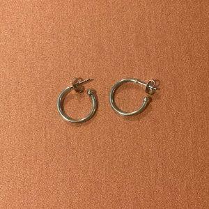 James Avery Retired hoop earrings